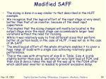 modified saff