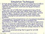 simulation techniques1