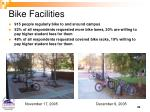 bike facilities