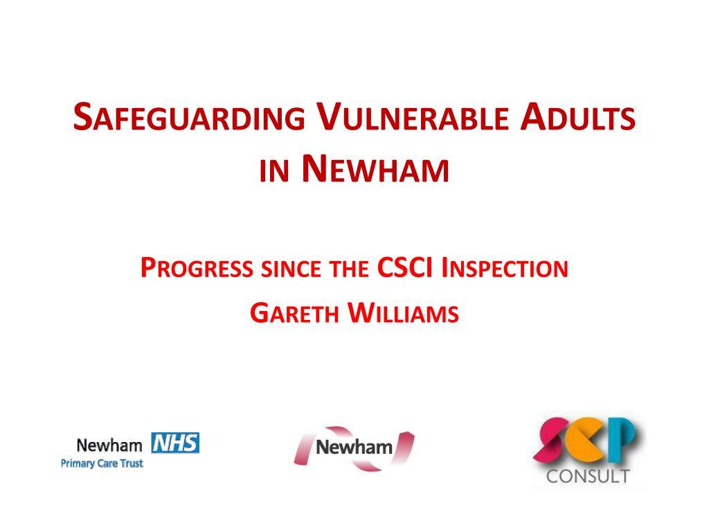 safeguarding vulnerable adults in newham l.