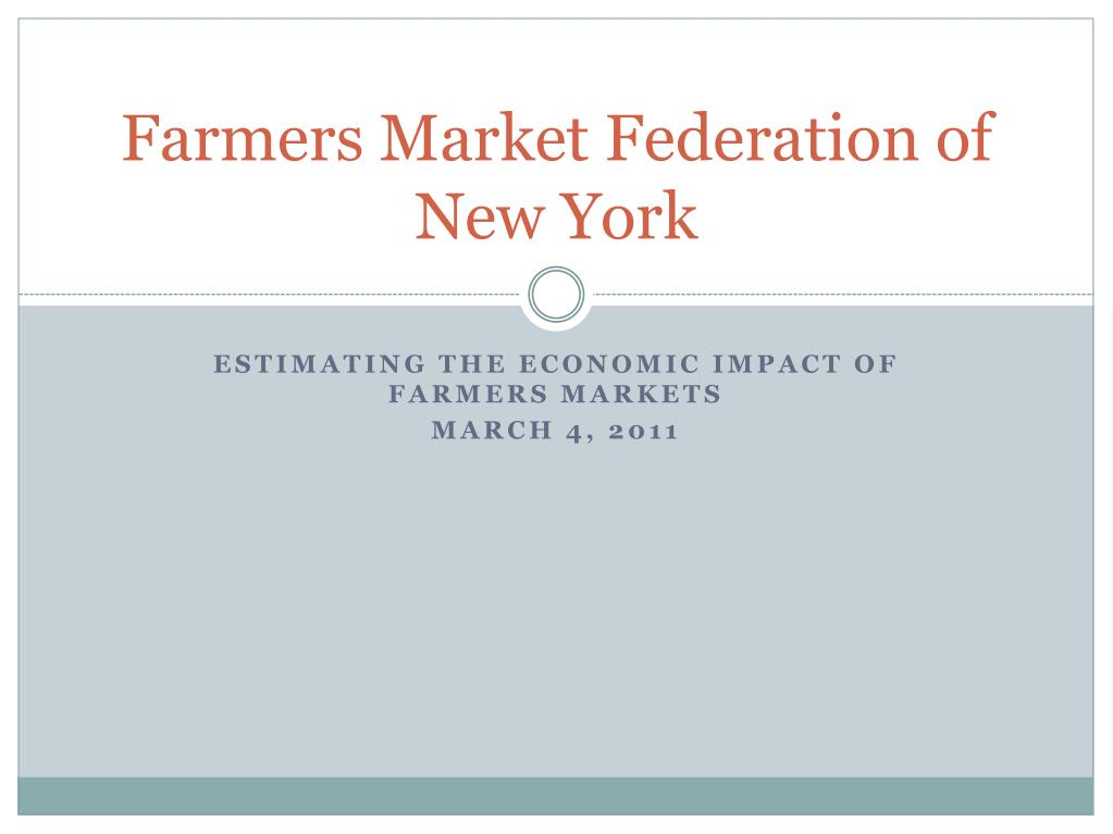 farmers market federation of new york l.