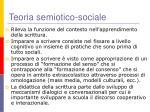 teoria semiotico sociale
