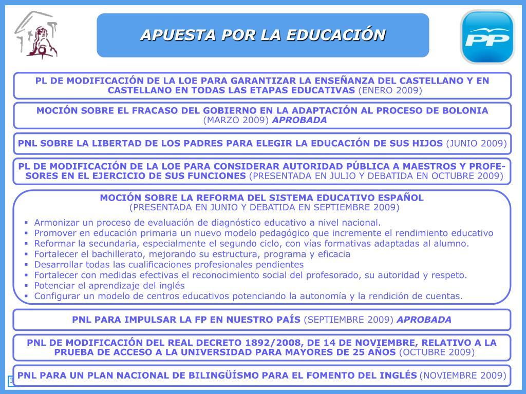APUESTA POR LA EDUCACIÓN