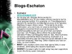 blogs eschaton