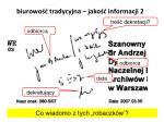 biurowo tradycyjna jako informacji 2