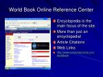 world book online reference center