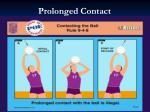 prolonged contact
