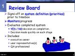 review board