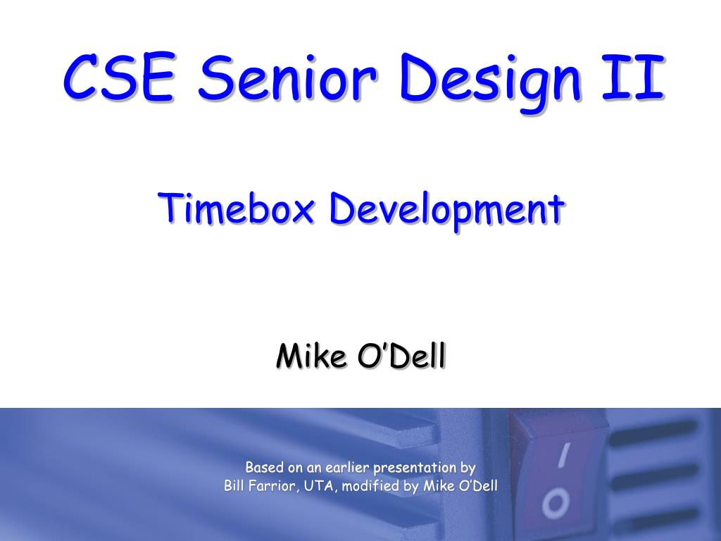 timebox development l.