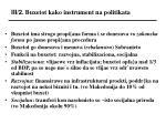 iii 2 buxetot kako instrument na politikata