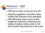 petitioner ksr