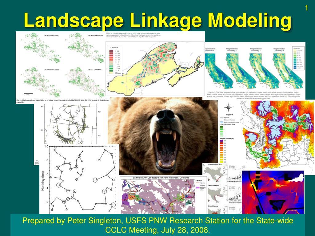 landscape linkage modeling l.