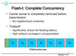 flash i complete concurrency