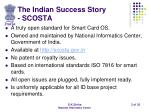 the indian success story scosta