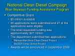 national clean diesel campaign blue skyways funding assistance program