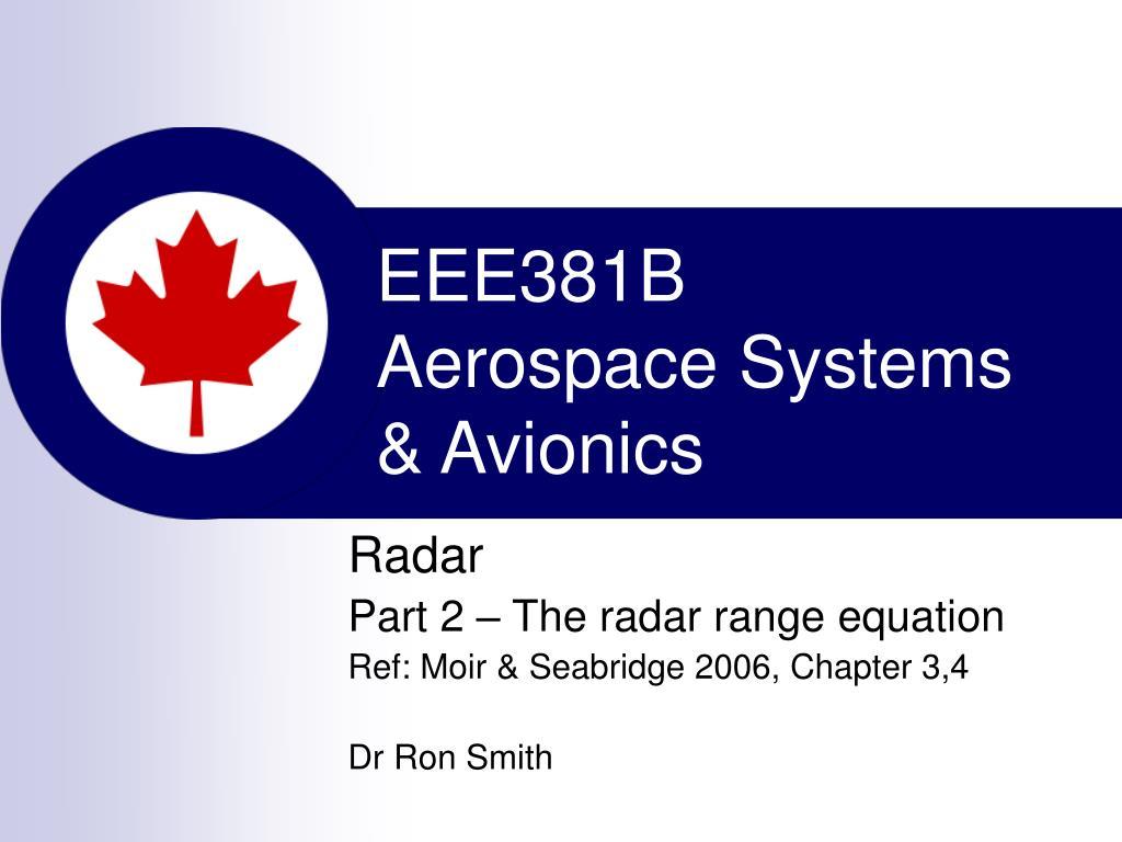 eee381b aerospace systems avionics l.
