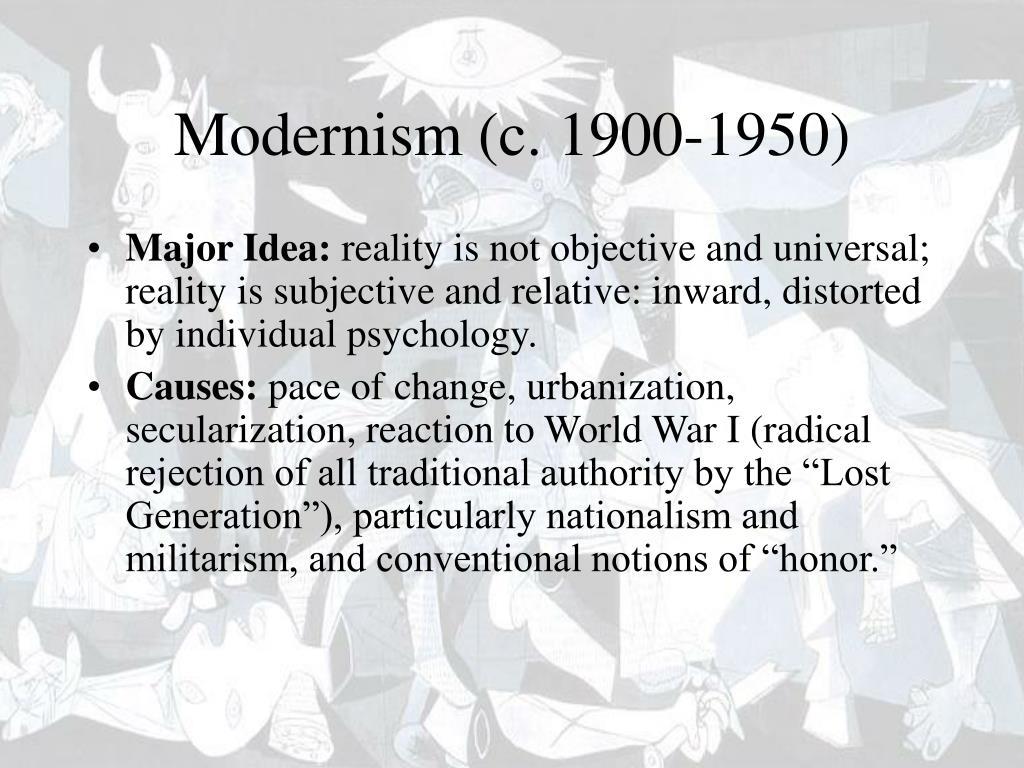 modernism c 1900 1950 l.