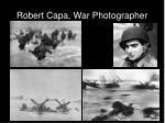 robert capa war photographer