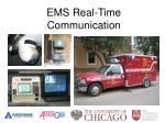 ems real time communication