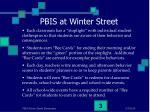 pbis at winter street