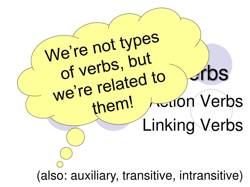 verbs verbs verbs l.