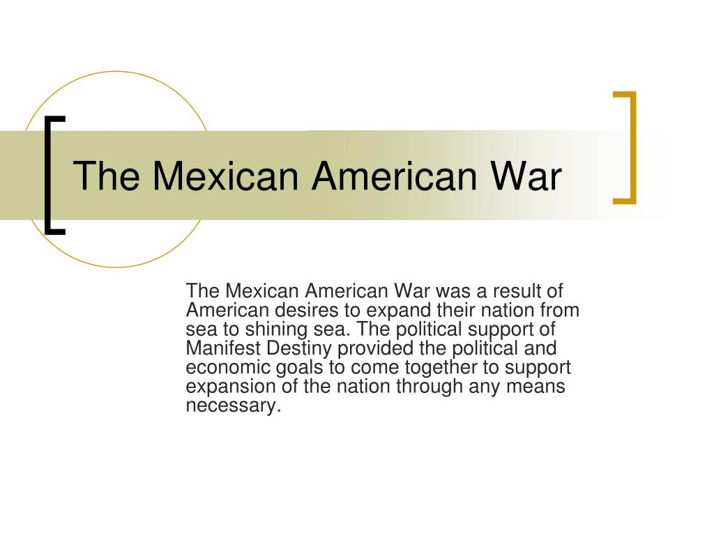 the mexican american war l.