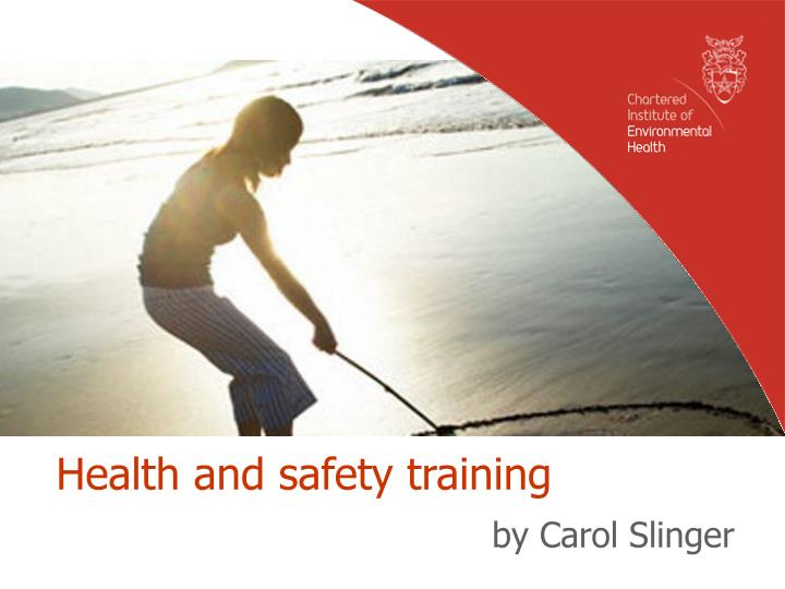 health and safety training n.