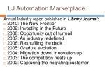 lj automation marketplace