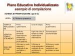 piano educativo individualizzato esempio di compilazione11