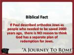 biblical fact