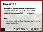 romans 10 5
