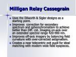 milligan relay cassegrain