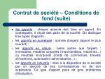 contrat de soci t conditions de fond suite5
