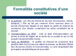 formalit s constitutives d une soci t