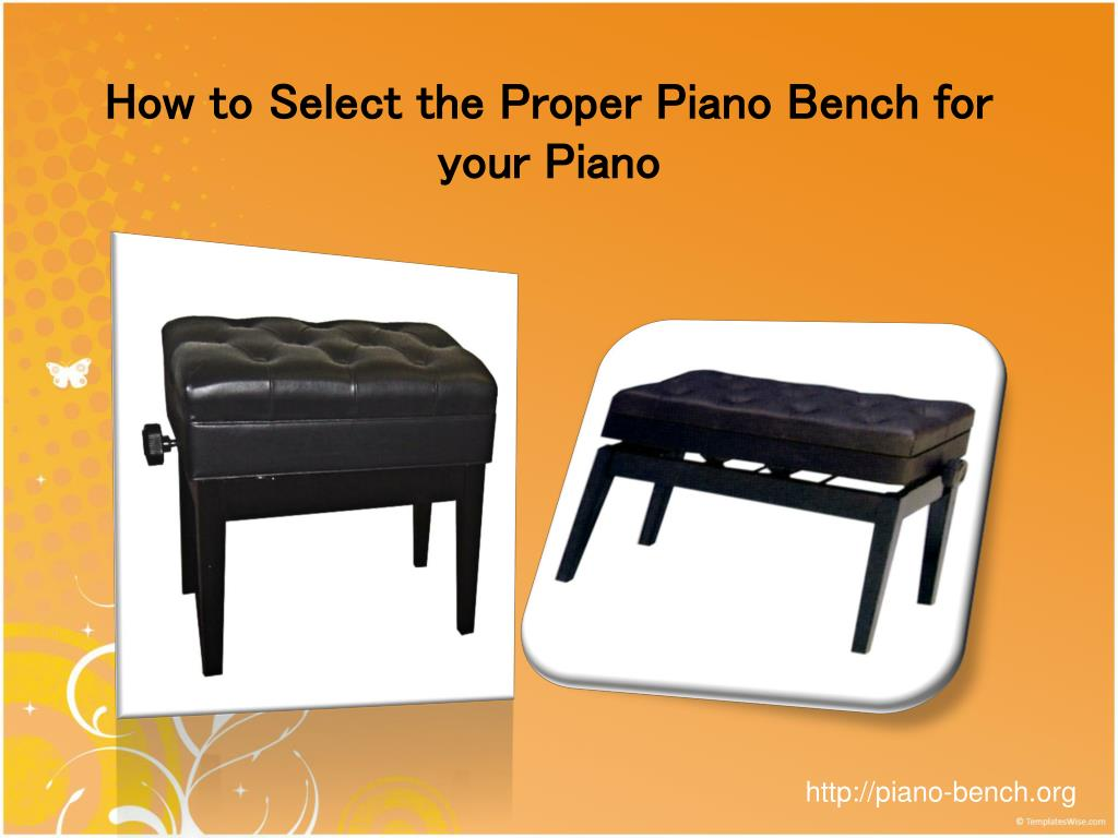 how to select the proper piano bench for your piano l.