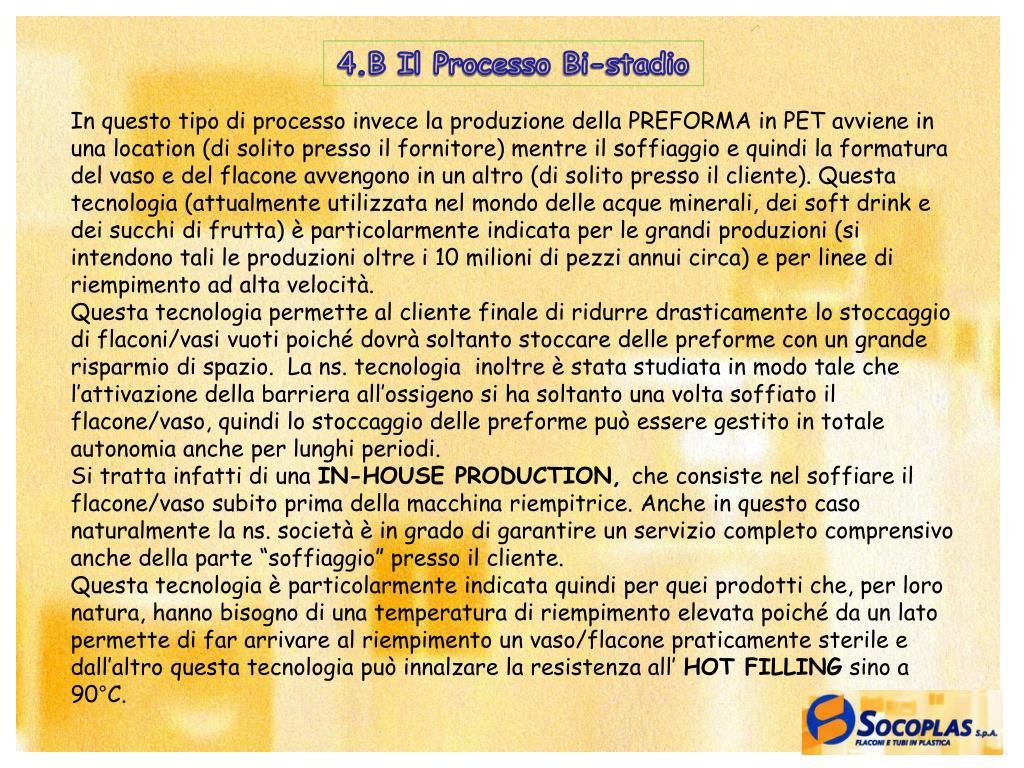 4.B Il Processo