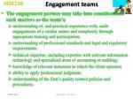 engagement teams