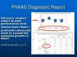 pvaas diagnostic report