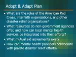 adopt adapt plan49