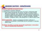 obvezne zahteve ozna evanje19