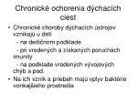 chronick ochorenia d chac ch ciest