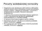 poruchy acidob zickej rovnov hy229