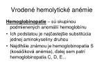 vroden hemolytick an mie