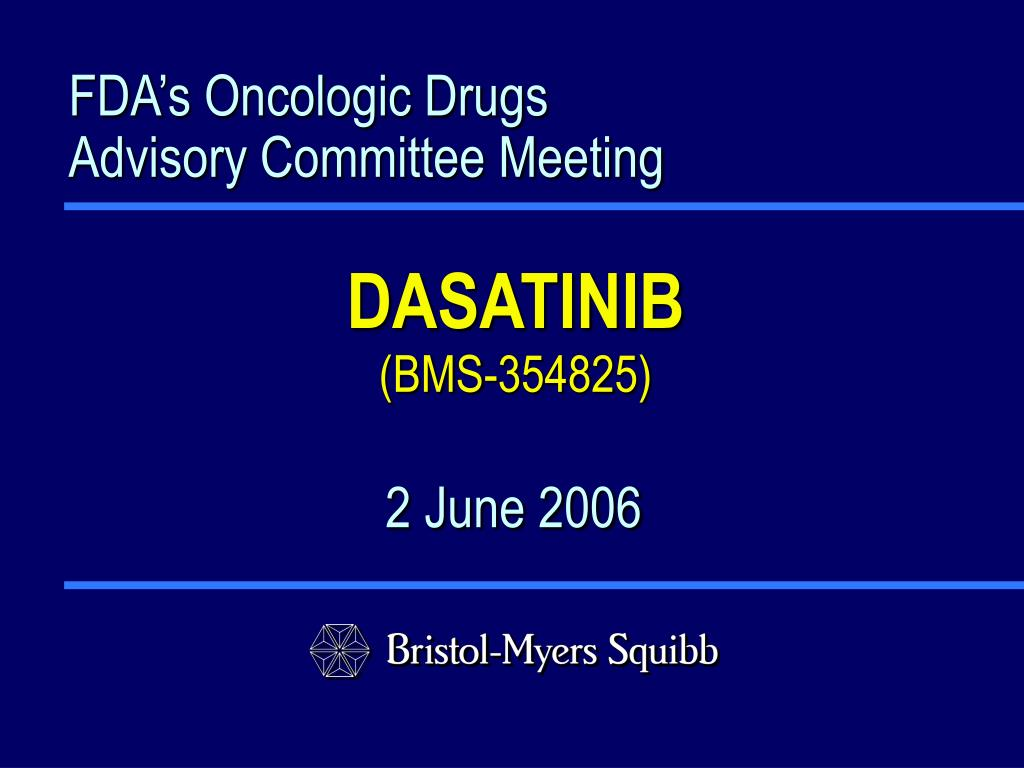 fda s oncologic drugs advisory committee meeting l.
