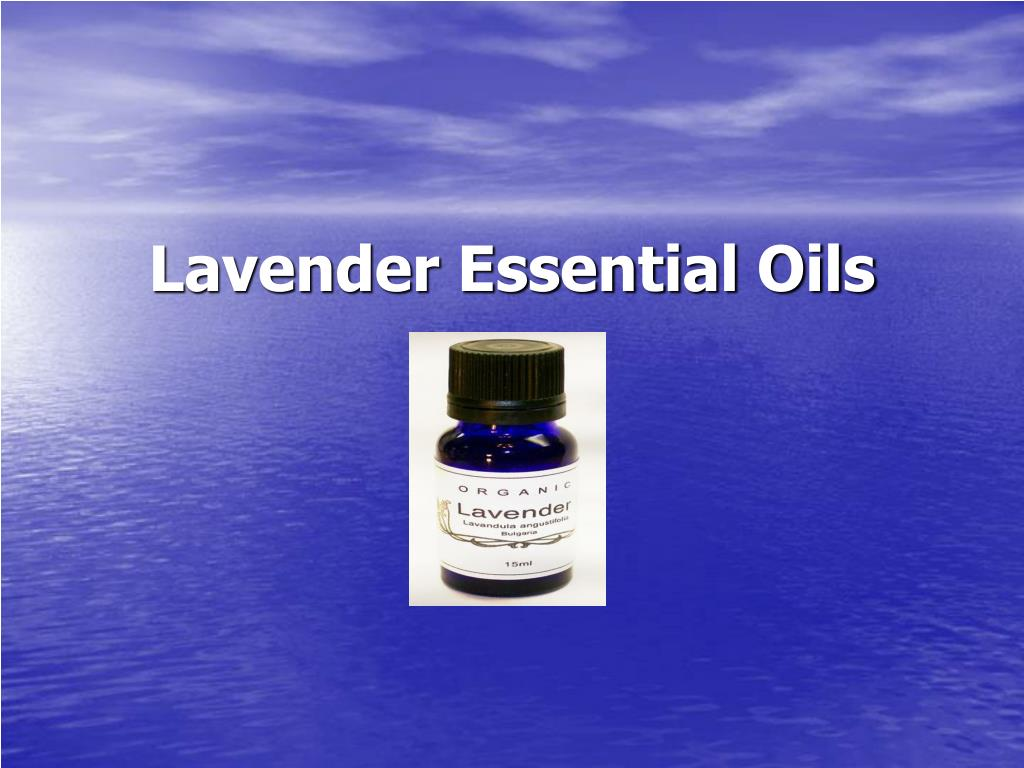 lavender essential oils l.