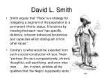 david l smith