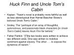 huck finn and uncle tom s cabin