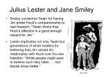 julius lester and jane smiley8