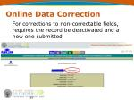 online data correction35