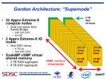 gordon architecture supernode